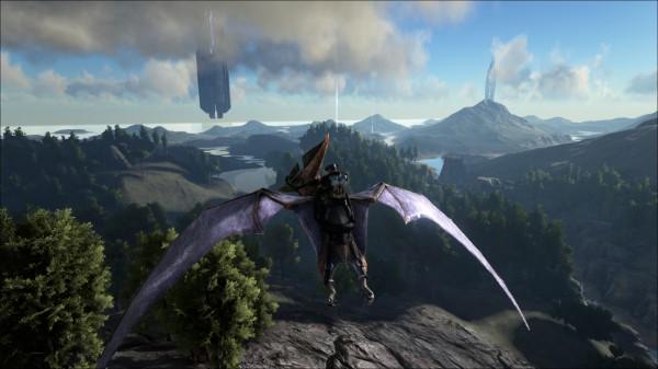 Pteranodon flight
